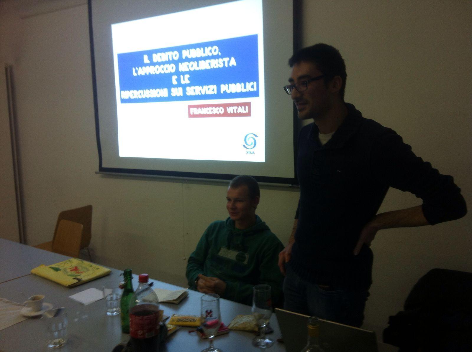 Gli altri due relatori: F. Vitali e Z. Casella