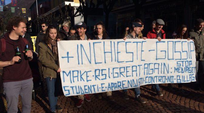 """Manifestazione contro l'iniziativa """"No Billag"""" (27.01.18) – Gallery"""