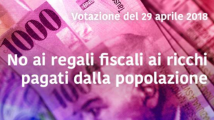 NO alla riforma fiscale!