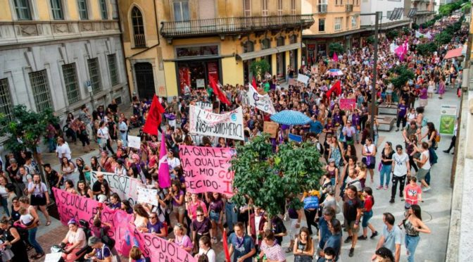 Sciopero delle donne: in lotta per la parità! – Gallery