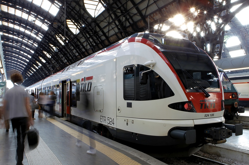 Flirt TILO Milano Centrale 2