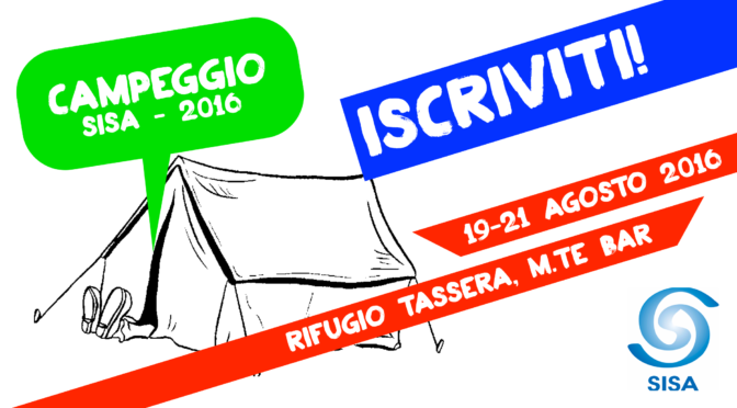 Campeggio 2016: aperte le iscrizioni!