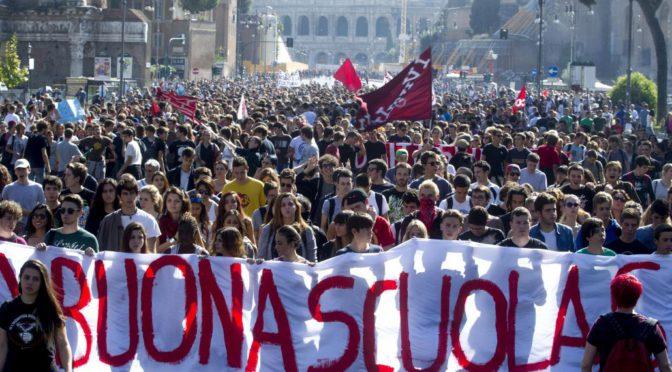 """Riuscito il referendum contro la """"cattiva scuola"""" di Renzi: raccolti oltre 2 milioni di firme"""