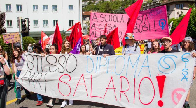 1° maggio 2019: parità salariale, lotta sindacale! – Gallery