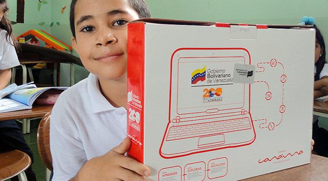 Il progetto Canaima: da 10 anni, il governo venezuelano regala computer agli allievi