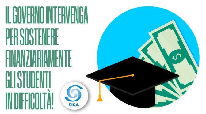 Il governo aiuti gli studenti! Il SISA lancia una petizione online