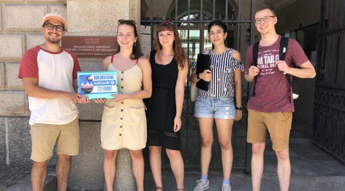 Consegnata la petizione sulla nuova griglia oraria liceale: il Governo ascolti le rivendicazioni degli studenti!